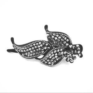 Accessories - BEAUTIFUL VTG hair clip w Swarovski crystals: nwot